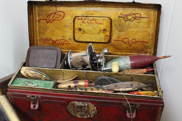 Vintage Tackle Box. Visit www.cottagecraftworks.com where ...