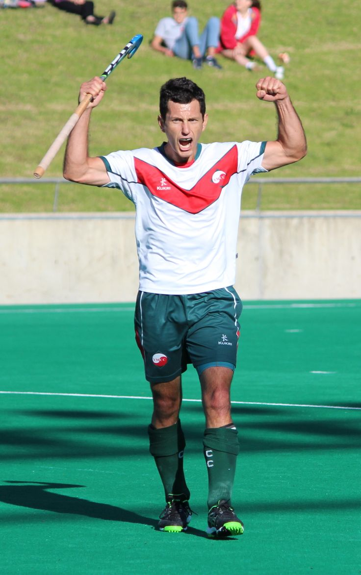 Jamie Dwyer celebrates YMCC defeating Westside Wolves in the WA League Grand Final   (Photo by Ben Bregazzi)