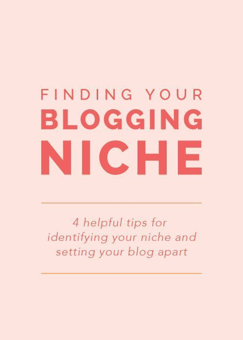 Finding Your Blogging Niche: 4 helpful tips for identifying your niche and setting your blog apart - Elle & Co.