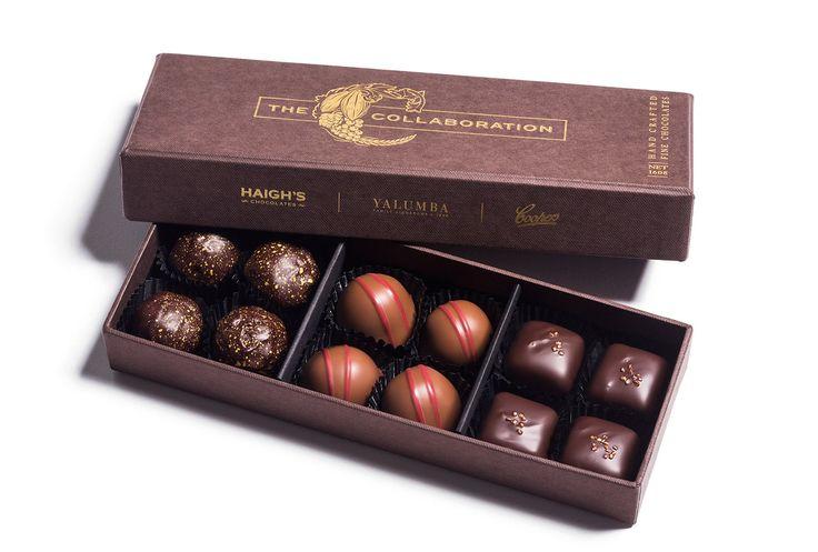 Haigh's Chocolates –The Collaboration Presentation Box