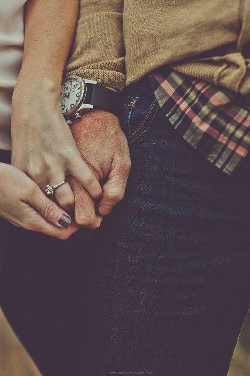 I love this engagement photo