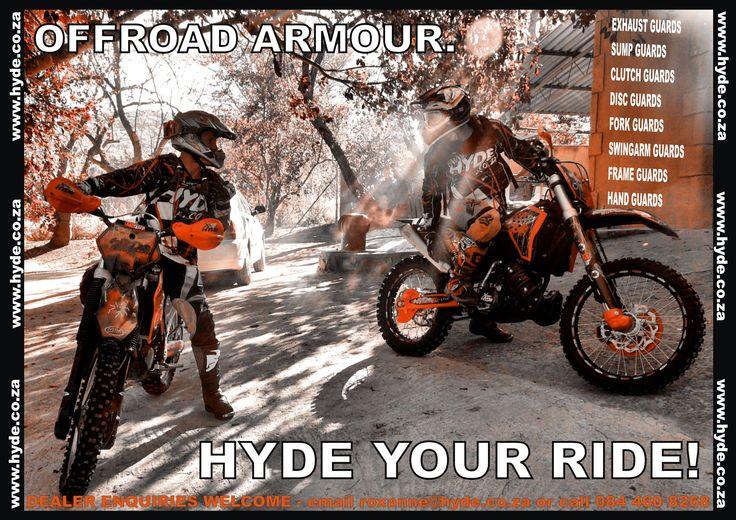 #hydeguards #dirtbikes