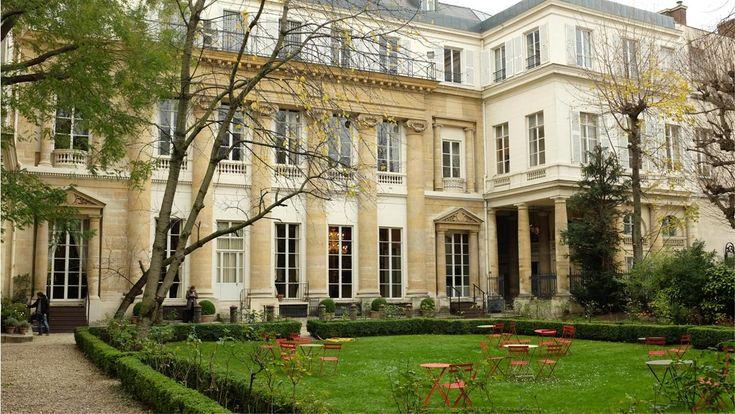 Jardin de l'institut culturel Italien Paris