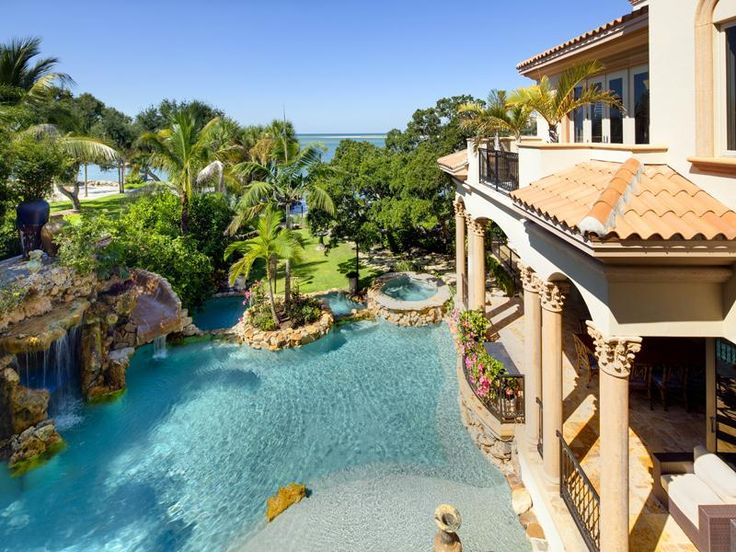 Incredible Backyard Pool In An Incredible Setting.
