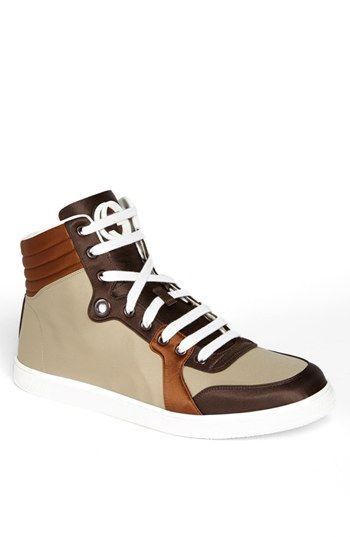 Gucci 'Coda' Satin High Top Sneaker available at #Nordstrom