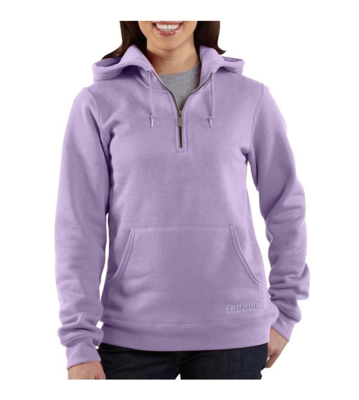 Love this women's carhartt sweatshirt..Just got one in blue and its so warm...