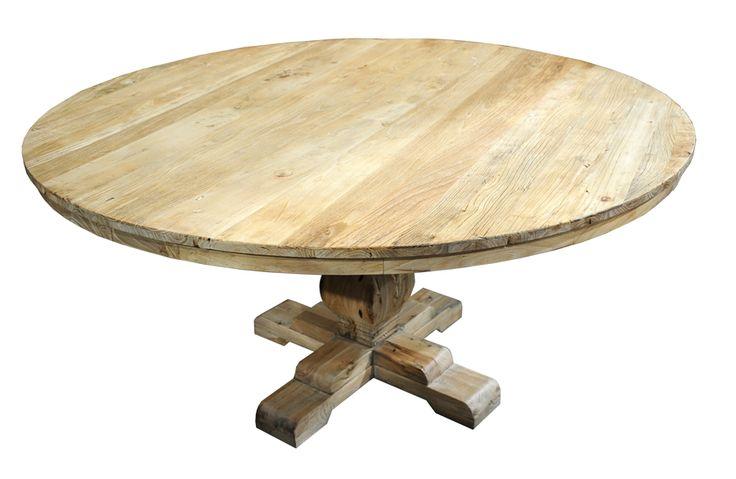 Lyon spisebord er et stort rundt bord i heltre. 150cm i diameter ...