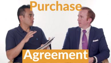 Whats in the purchase agreement and offer to purchase when buying a new home?