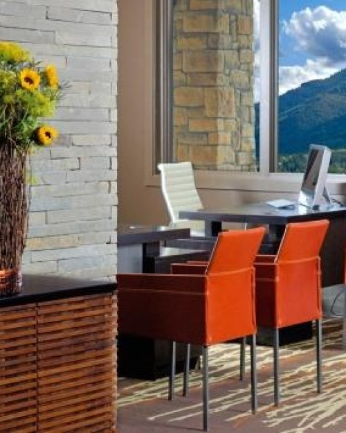Hotel Terra Jackson Hole  ( Teton Village, Wyoming )  The hotel is wired for the digital set, with free WiFi, iHome docks and Bose sound systems. #Jetsetter