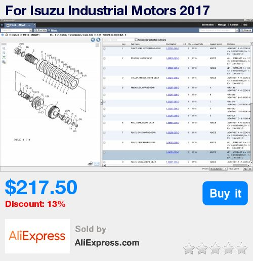 For Isuzu Industrial Motors 2017 * Pub Date: 03:43 Aug 20 2017
