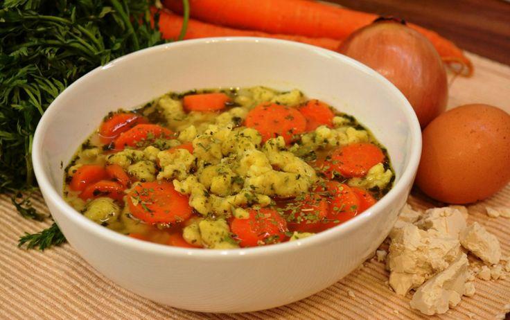 Babiččina kvasnicová polévka
