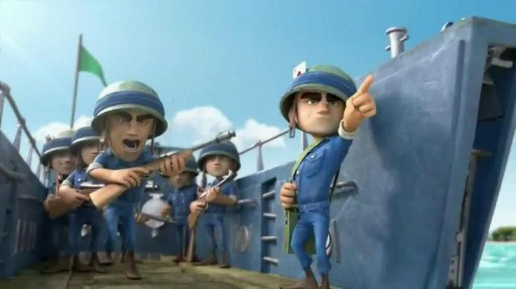 Beach Boom Characters | Boom Beach TV Commercial, 'Boom Cannon' - iSpot.tv