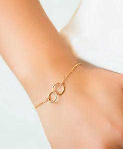 cadeau femme original- Bracelet cercle