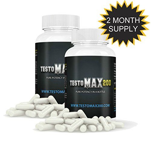 Testosterone Booster Pills - Testosterone Booster for Muscle Growth - Testosterone Booster Supplements Two Pack * Read more reviews of the product by visiting the link on the image.