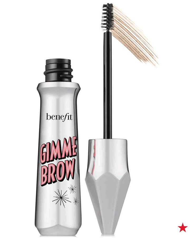 Take brows from sparse to spectacular with Benefit Gimme Brow volumizing fiber gel. Brush on tiny micro fibers that adhere to skin and hair to create full, lush-looking brows. Define your shape by first using a brow pencil, then brush Gimme Brow gel through hair to tame, tint and volumize.
