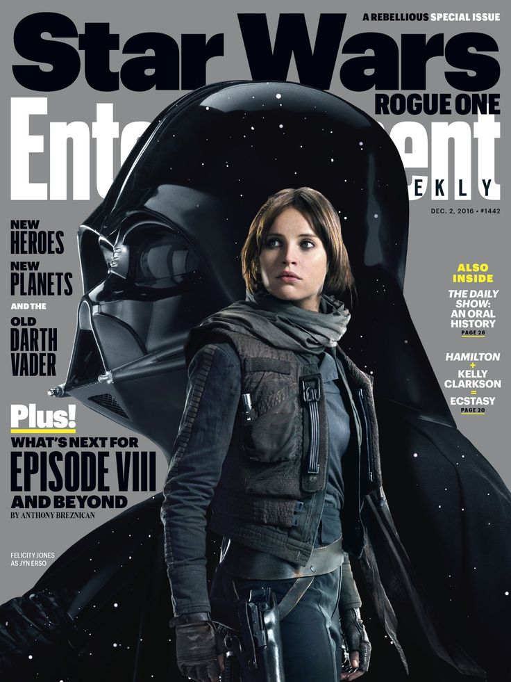 Entertainment Weekly Rogue One cover