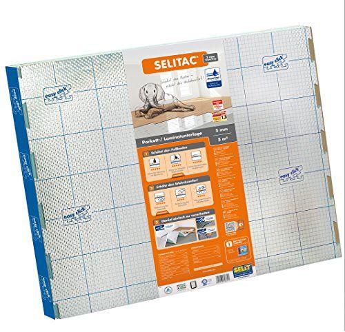 Selitac Aqua-Stop Sous-couche pour parquet flottant et stratifié 5 mm: Sous-couche pour parquet flottant et stratifié Idéal pour protéger…