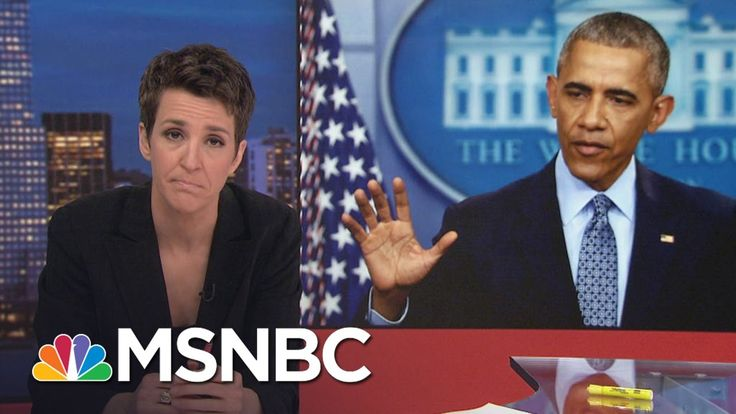 President Barack Obama Exits With Long List Of Accomplishments | Rachel ...
