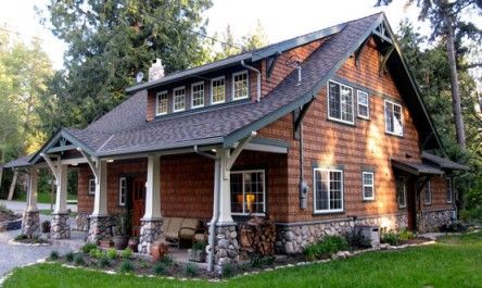 73 best images about dormers on pinterest window dormer for Craftsman style log homes