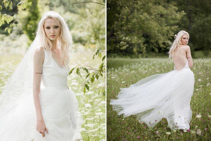 Ballerina wedding dress.