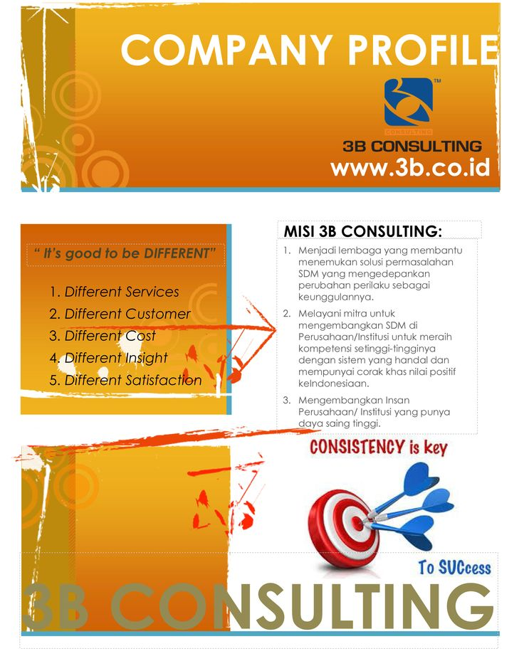 Best Company Profile B Consulting Images On   Company