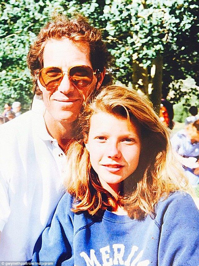 Gwyneth Paltrow posted a touching photo of her late father Bruce Paltrow on Thursday, calling on all fathers to be like him and support their daughters.