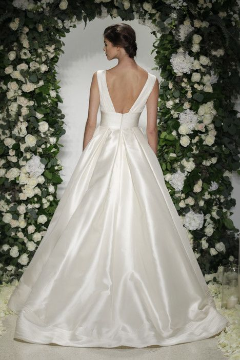 Langham (2) dress (Ballgown, V-Neck, Straps,  Sleeveless ) from  Anne Barge 2016, as seen on dressfinder.ca. Click for Similar & for Store Locator.