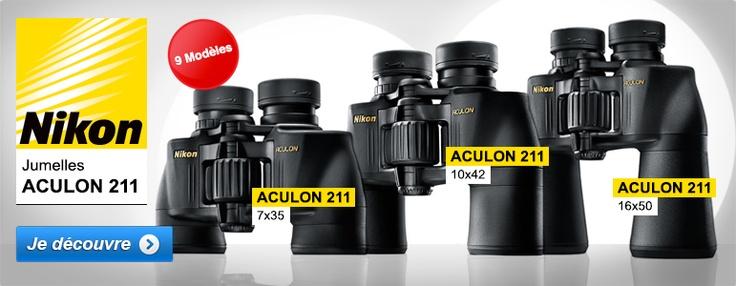 Jumelles Nikon Aculon