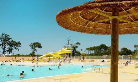 Camping les Oyats à Seignosse : 3 ou 7 nuits en camping 4* en bord de mer dans les Landes: #SEIGNOSSE 165.00€ au lieu de 329.00€ (50% de…