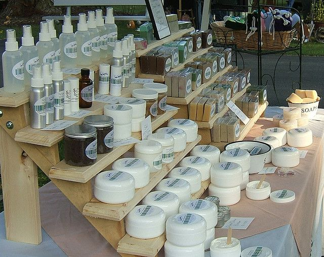 side display by Soap Cupboard, via Flickr