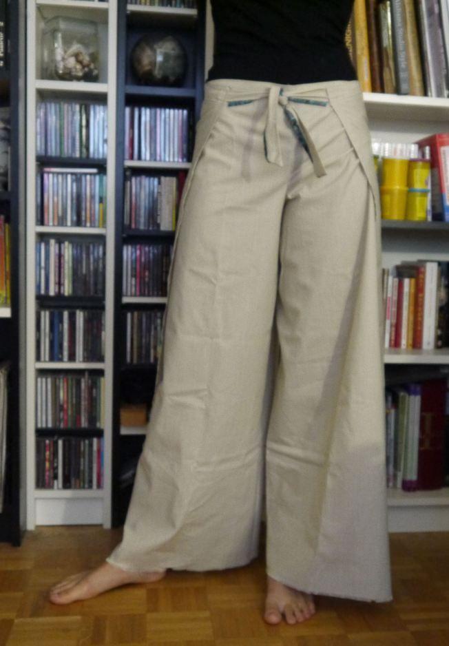Japanese pants (free pattern) by TitesMains