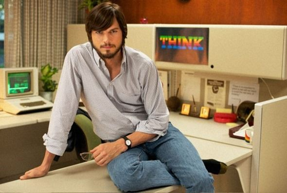 FIRST OFFICIAL PRESS IMAGE OF ASHTON KUTCHER AS STEVE JOBS RELEASED AHEAD OF FILM PREMIERE  Posted on Dec 4, 2012    Although the Joshua Michael Stern directedjOBSmovie is not the official adaptation of Walter Isaacson's autobiography, it is one of the most-anticipated independent films of recent times thanks to the insight that it promises to give into the life of the iconic Apple co-founder, Steve Jobs. When Ashton Kutcher was first announced as the actor who ...