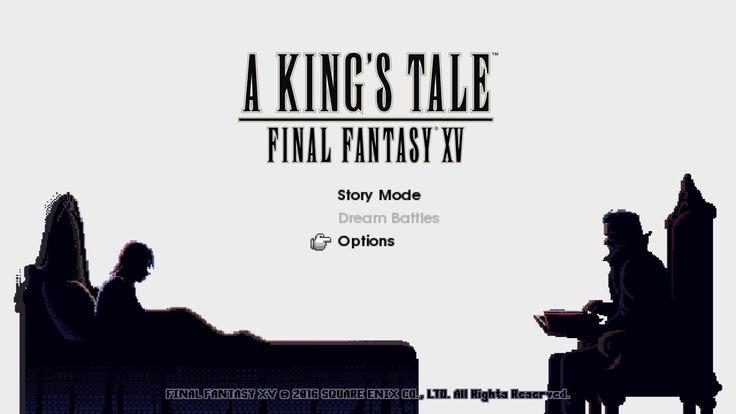 A King's Tale: Final Fantasy 15 is free!!!