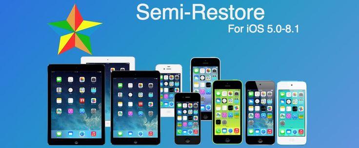 """Semi-Restore für iOS 8.1: Wiederherstellung ohne iOS 8.1.1 / iOS 8.2 Update! - https://apfeleimer.de/2014/11/semi-restore-fuer-ios-8-1-wiederherstellung-ohne-ios-8-1-1-ios-8-2-update - Mit iOS 8.1.1 ist kein Jailbreak mehr möglich. Semi-Restore für iOS 8.1 ermöglicht eine """"Wiederherstellung"""" des iPhone, iPad oder iPod touch unter iOS 8.1 auch NACHDEM Apple die Signierung von iOS 8.1 gestoppt hat. Nach einem Semi-Restore von iOS 8.1 steht Euch ein &#..."""
