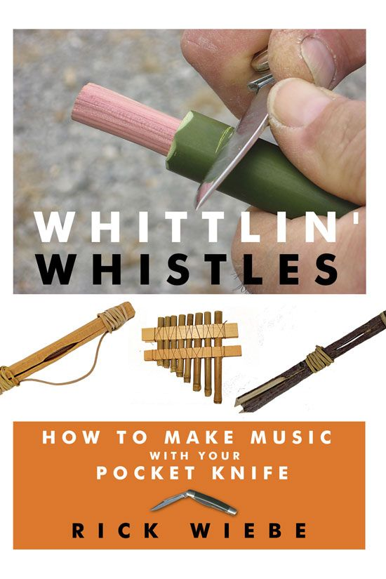Whittler Rick Weibe teaches how to choose the proper pocket knife and how to whittle a pan flute.data-pin-do=