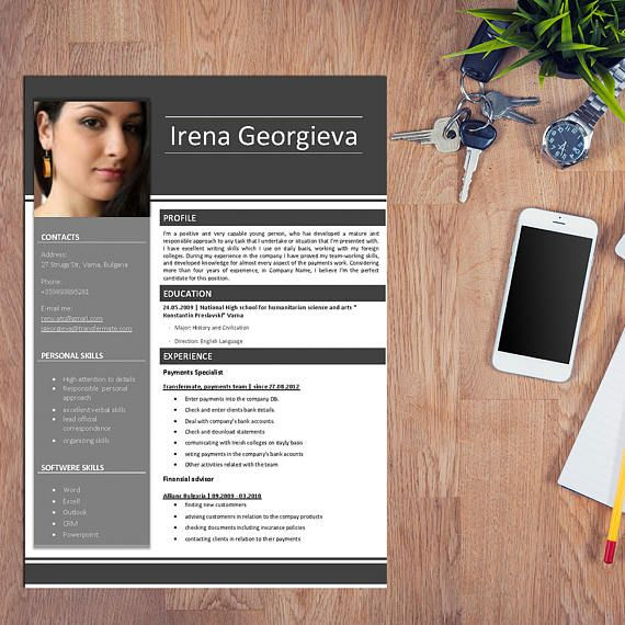 Show your future employer you're different. Use this resume template and be impressive! https://www.etsy.com/listing/505851249/cv-sample-resume-gray-job-resume-format