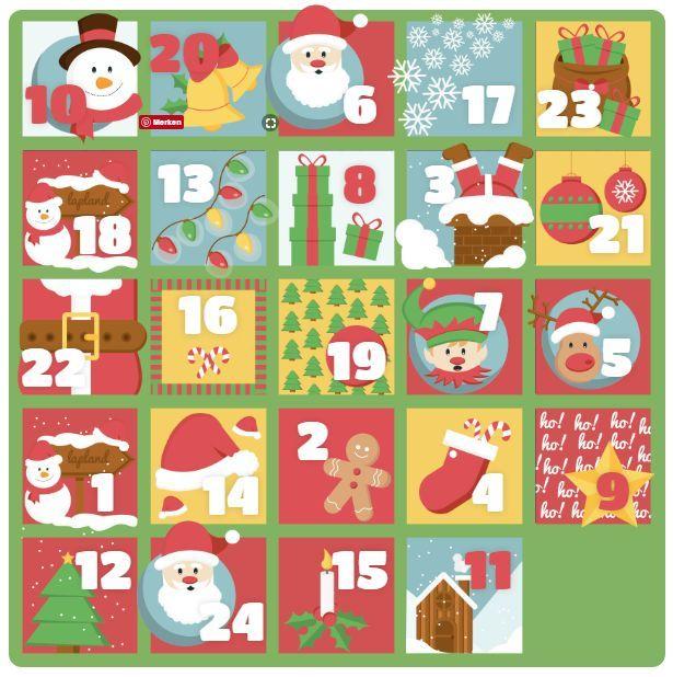 Weihnachten steht vor der Tür. Bis der Weihnachtsmann durch den Kamin geklettert kommt wird Dir die Vorfreude mit einem Adventskalender-Gewinnspiel verkürzt