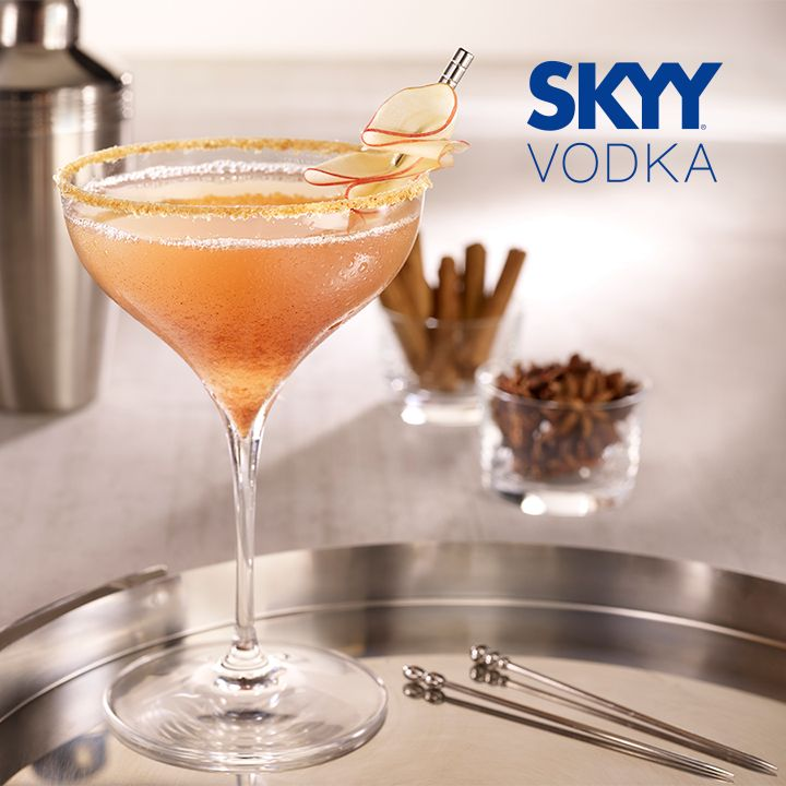 39 Best Images About SKYY Vodka Cocktail Recipes On Pinterest