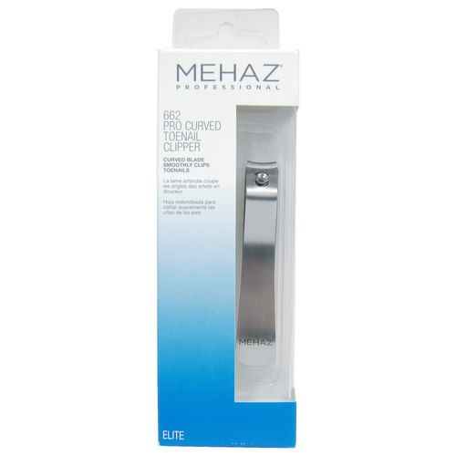 Mehaz Professional Pro Curved Toenail Clipper - 9MC0662