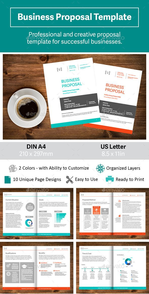 17 beste ideer om Business Proposal Template på Pinterest - free event proposal template