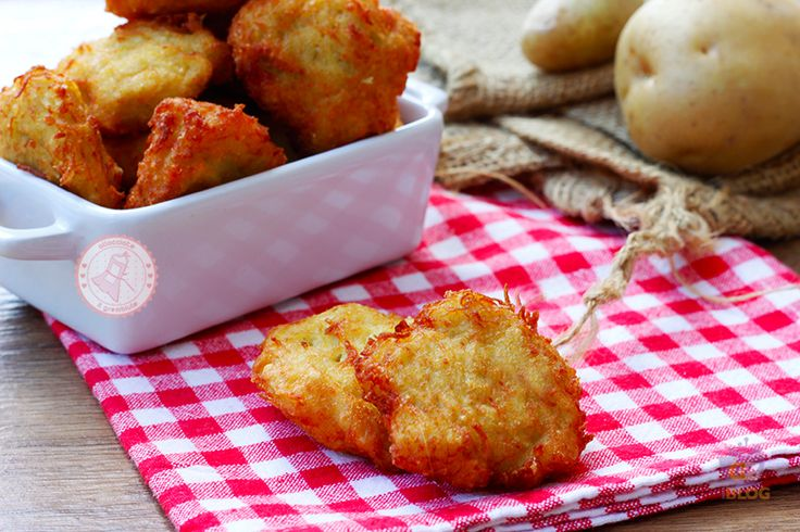 FRITTELLE PATATE E PARMIGIANO