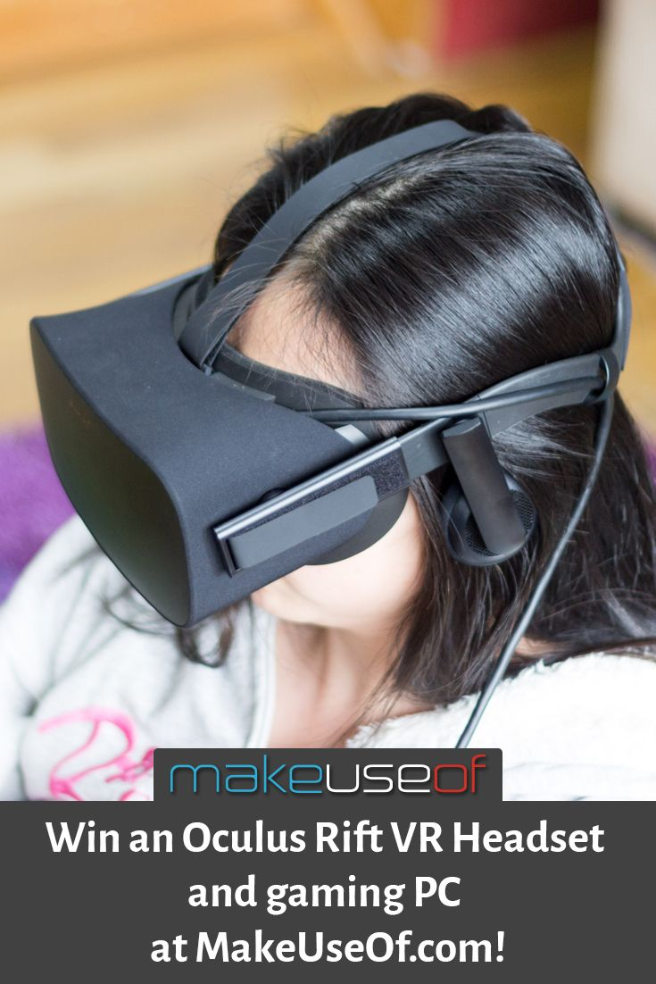 Enter to win an Oculus Rift and VR rady PC from MakeUseOf.com