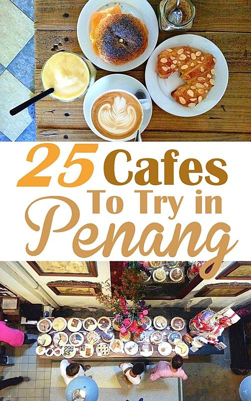 Who knows that Penang has a rich cafe culture. Check out this guide for some of the best cafes in Penang.