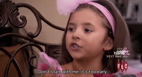"""Don't let morning people get you down. 