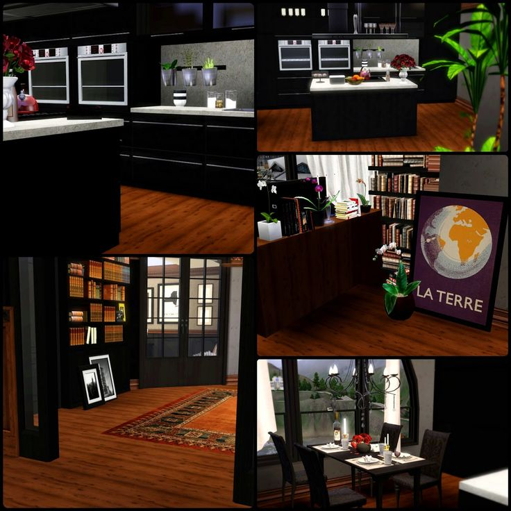 Upper East Side By Simberry / Kitchen / Sims 3 / Download