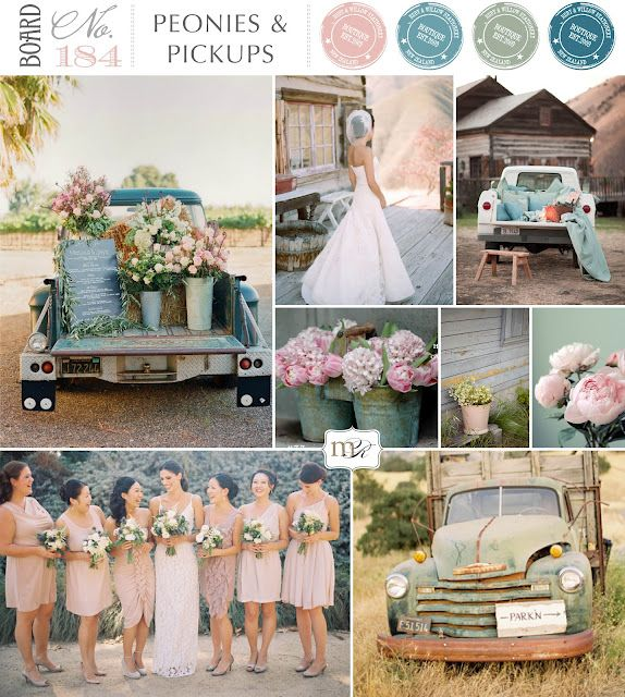 Board#184: Peonies & Pickups - By Magnolia Rouge