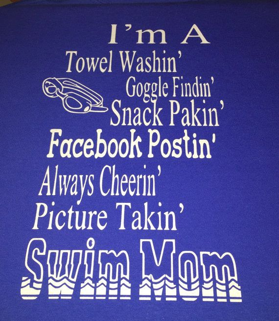 Swim, Mom, Swim Mom, Swim Shirt, Shirt, Shirts, Team, Swim Team, Sports, Granny, Nana, Dad, T-shirt
