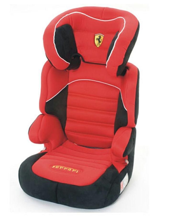 Ninio.ro va pune la dispozitie pentru achizitionare: BeFix SP Ferrari ofera 2 scaune auto in unul singur. Acesta acoperă toate categoriile de vârstă, de la 3 la 12 ani (= sfârşitul cerinţei pentru utilizarea unui scaun de masina), datorită perioadei lungi de utilizare si spatarului reglabil pe înălţime.