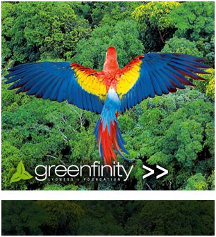 Lyoness GFF Looking after the environment is everyone's business. Conservation in many areas needs our support, small or big. Lyoness Greenfinity facilitates this support and I am proud to be a Lyoness member. I love the work Greenfinity does all around the world.