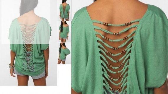 Как сделать футболку модной / Одежда / WhatIMade.ru - своими руками